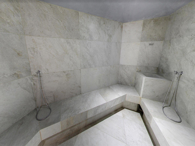 Tour Virtuale del Bagno Turco all\'Hotel Terme Apollo